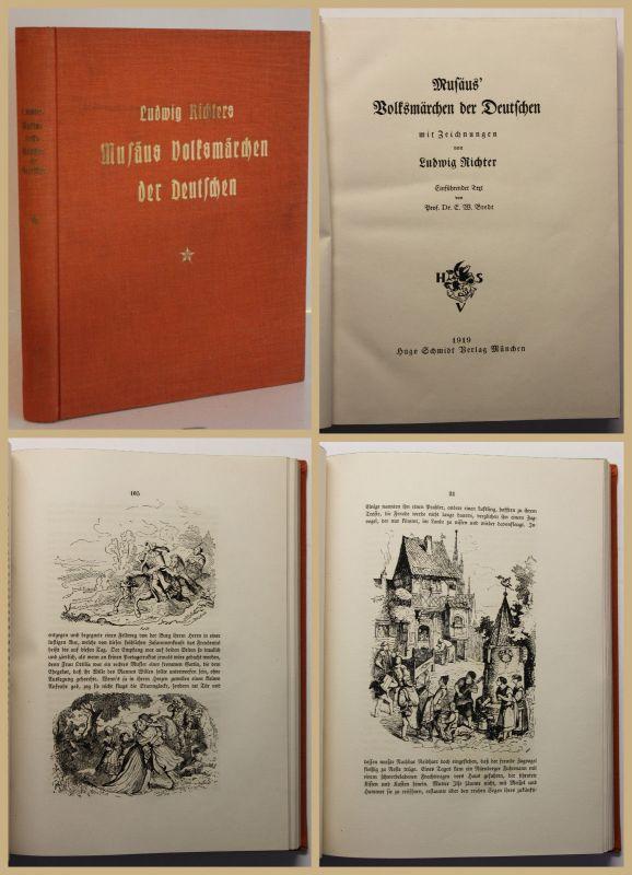 Musäus Volksmärchen der Deutschen 1919 geschichten Erzählungen Kinder Sagen sf