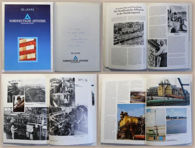 125 Jahre Norddeutsche Affinerie AG 1991 Hamburg Geschichte Festschrift Metal xz