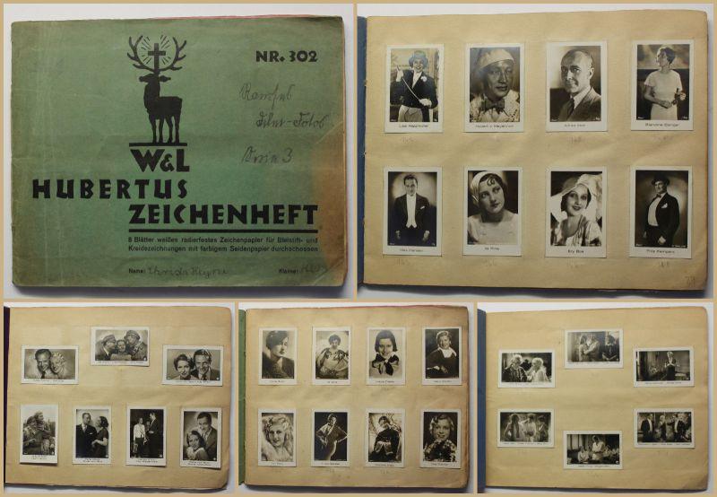 Fotoalbum Personen Porträts um 1930 Kunst Fotographie Fotokunst Film Grafiken sf