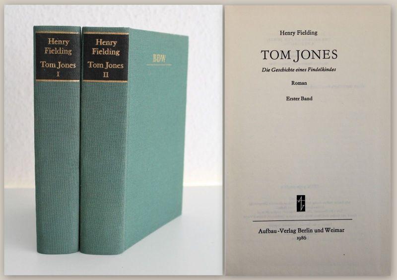 Fielding Tom Jones Die Geschichte eines Findelkindes 1986 Roman Literatur xz