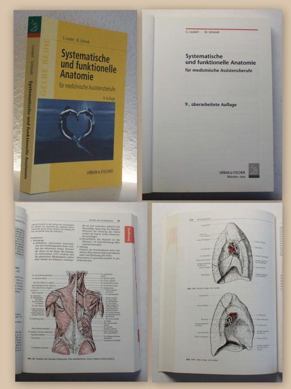 Leutert Systematische und funktionelle Anatomie 2002 Medizin Physiotherapie xy