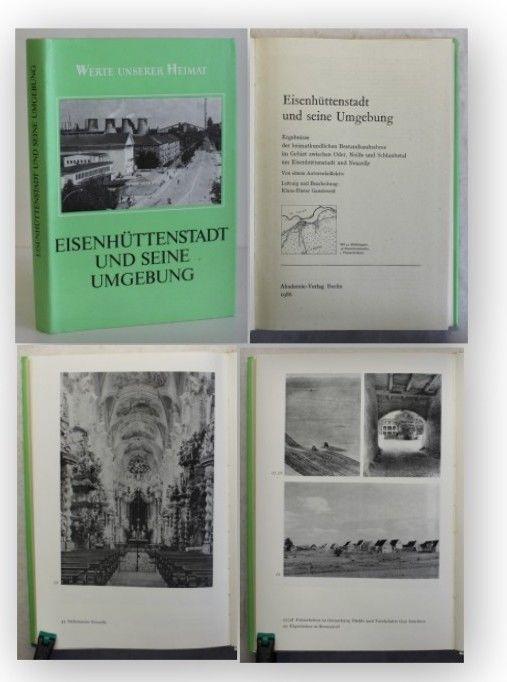 Werte unserer Heimat Eisenhüttenstadt und seine Umgebung 1986 Brandenburg xy