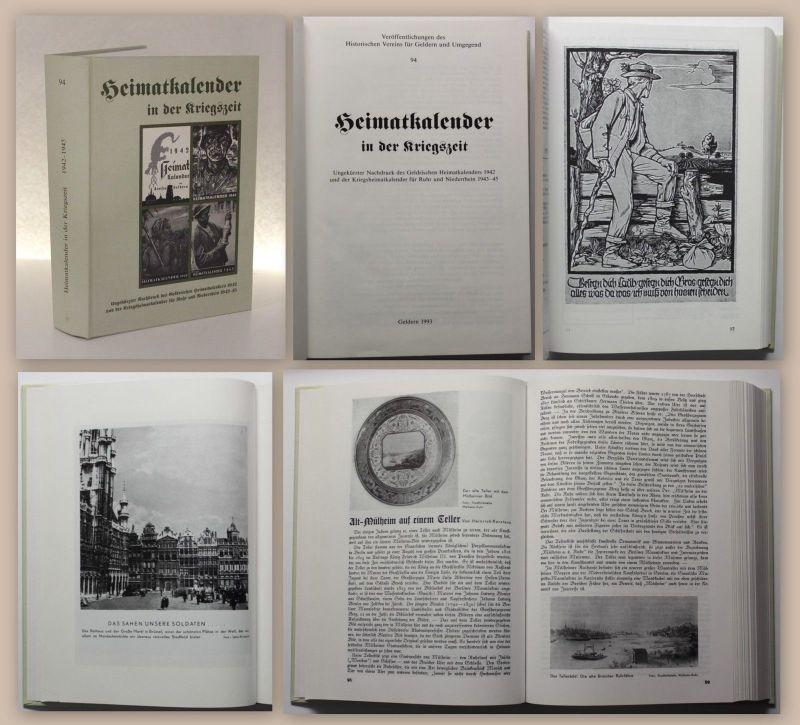 Heimatkalender in der Kreigszeit 1942 Reprint Histor. Verein Geldern 1993 xz