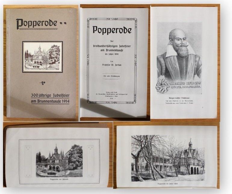 Jordan Popperode Zur 300-jährigen Jubelfeier 1914 Geschichte Ortskunde xy