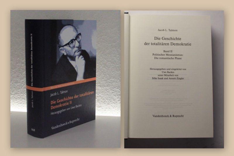 Talmon Die Geschichte der totalitären Demokratie II 2013 Philosophie xy