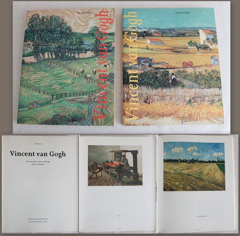 Uitert Vincent van Gogh Paintings & Drawings 1990 2 Bde Malerei Grafik Kunst xz