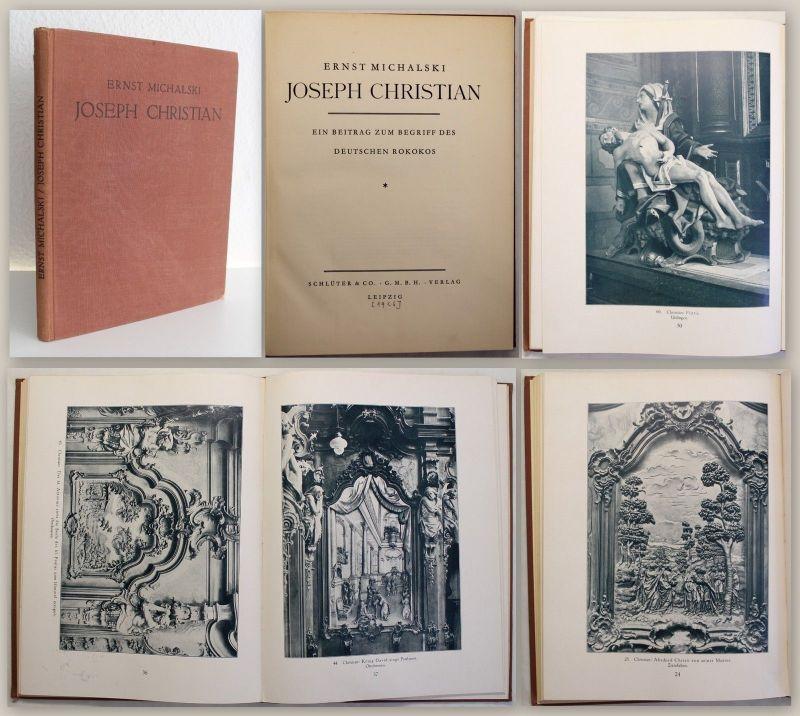 Michalski Joseph Christian 1926 Beitrag zum Begriff der dt. Rokokos Kunst xy