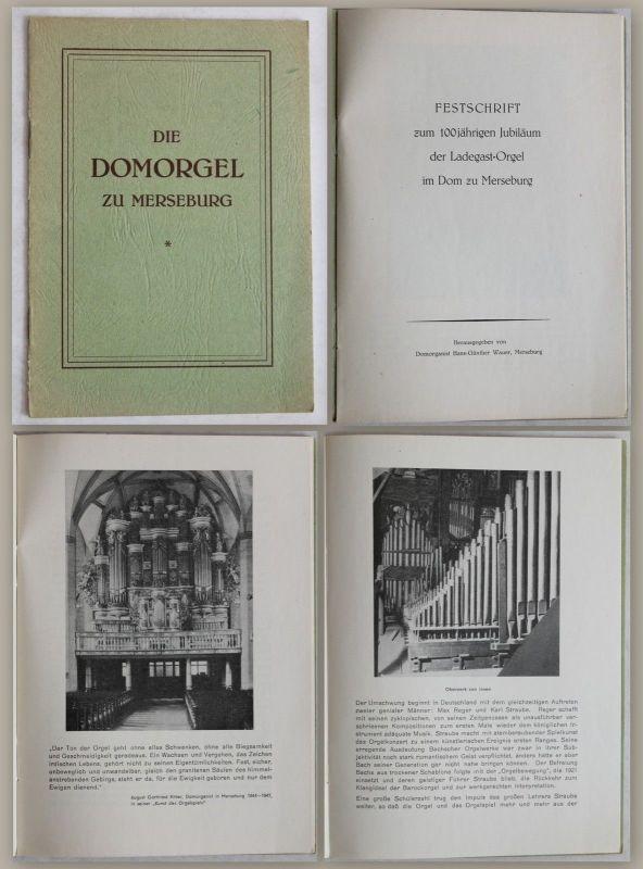 Festschrift zum 100jährigen Jubiläum der Ladegast-Orgel im Dom zu Merseburg - xz