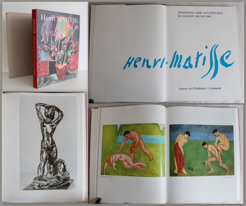 Henri Matisse Paintings and Sculptures in Soviet Museums 1990 Katalog Malerei xz