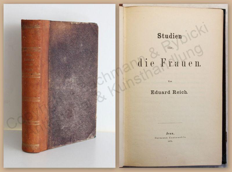 Reich Studien über die Frauen 1875 Statistik Leben Gesellschaft Erziehug Arbeit