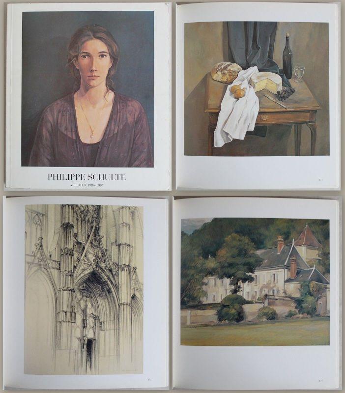 Katalog Philippe Schulte Arbeiten 1986-1997 Kunst Malerei Grafik Zeichnungen xz