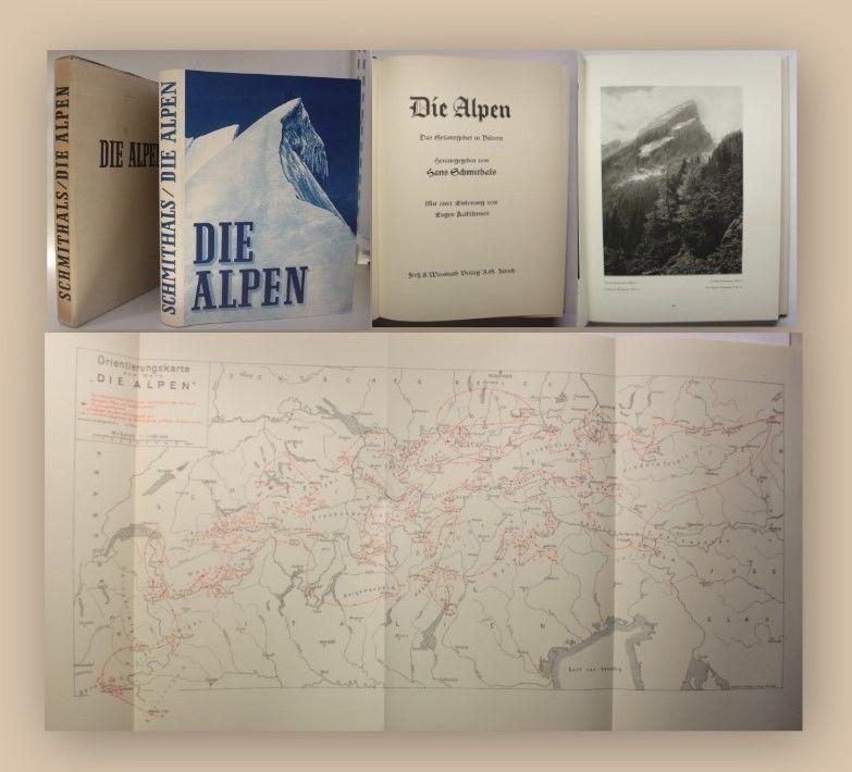 Schmithals Die Alpen 1930 Bildband Bilder Gebirge Bergland Reise Landeskunde xy