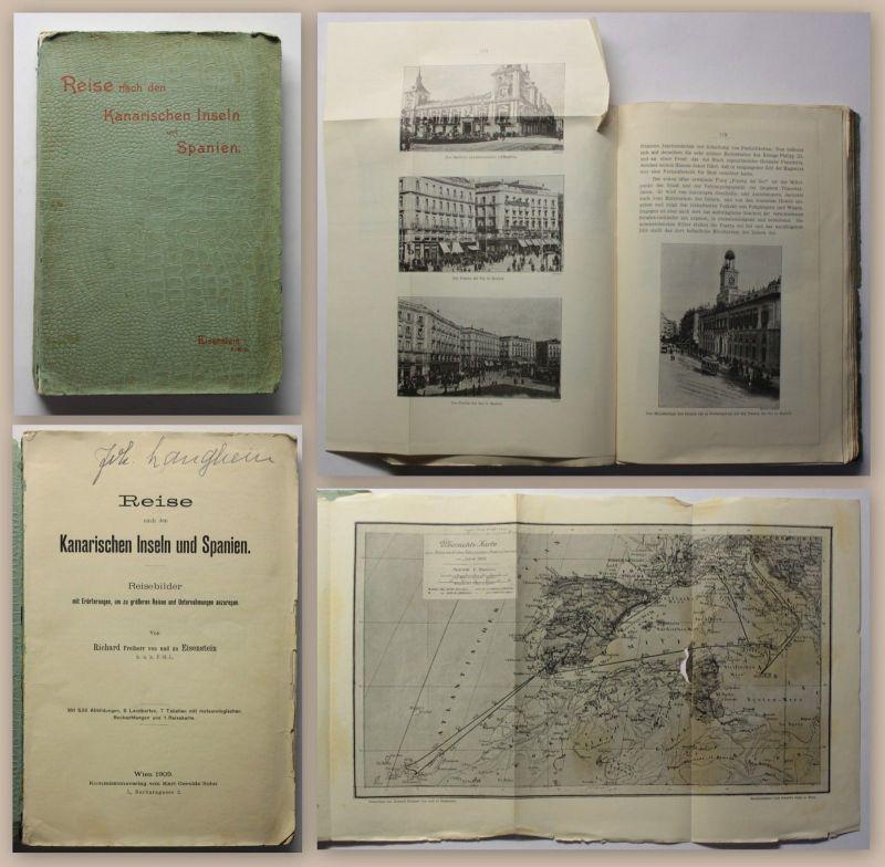 Eisenstein Reise nach den kanarischen Inseln und Spanien 1909 Reisebilder xz