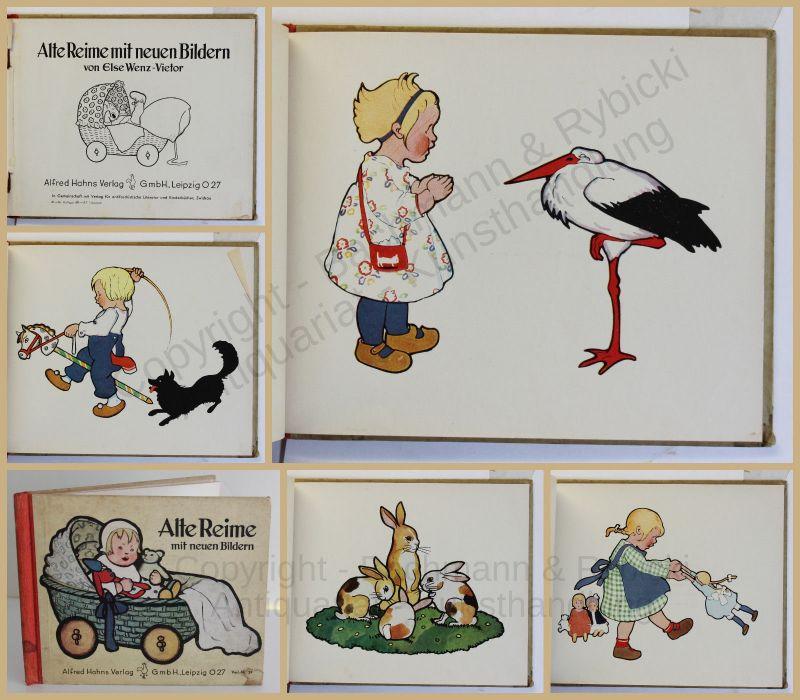 Wenz-Vietor Alte Reime mit neuen Bildern 1939 Kinderbuch Bilderbuch xy