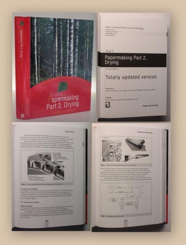Karlsson Papermaking Part 2 Drying Book 9 2010 Industrie Papier Wirtschaft xy