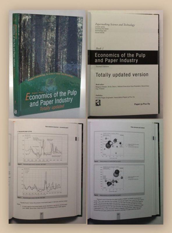 Diesen Economics of the Pulp and Paper Industry Book 1 2007 Industrie Papier xy