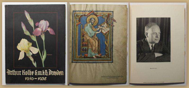 Firmenschrift Arthur Kolbe Der Lichtdruck um 1935 Sachsen Kultur Geschichte sf