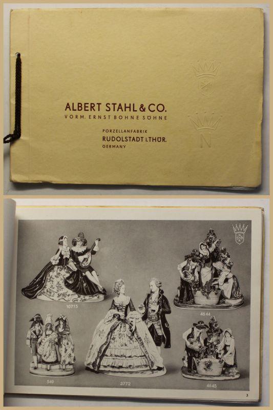 Katalog Albert Stahl & Co. 1959 Porzellan Periodika Werbung Reklame Kunst sf