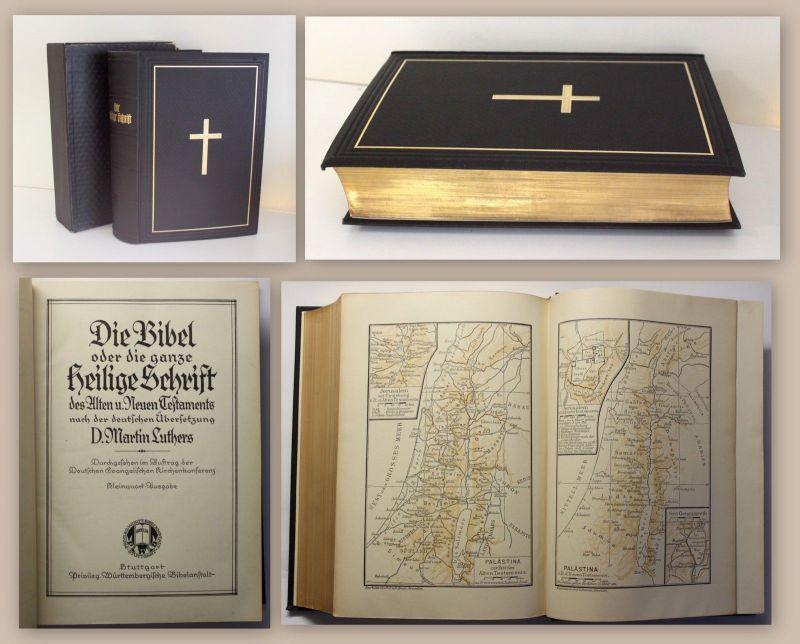 Luther Die Bibel Die ganze heilige Schrift 1927 Religion Christentum xz