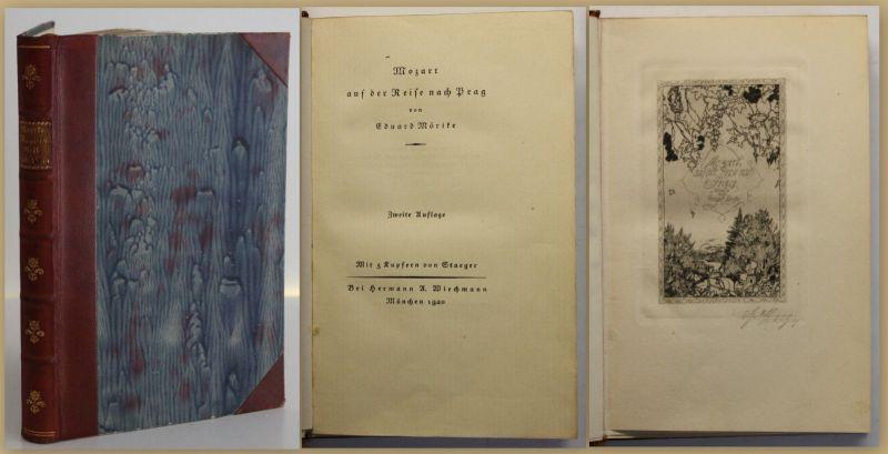 Mörike Mozart auf der Reise nach Prag 1920 Geografie Geographie Landeskunde sf