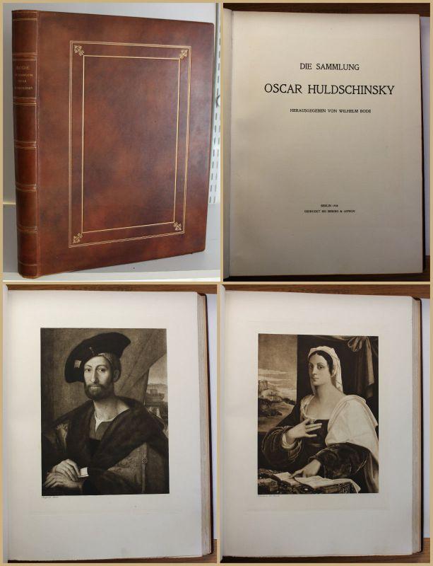 Bode Die Sammlung Oscar Huldschinsky 1908 Kunstgeschichte Kultur Kunst sf