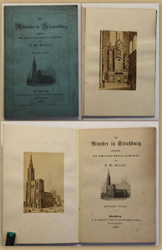 Strobel Das Münster in Straßburg 1882 Geografie Ortskunde Geographie Reise sf