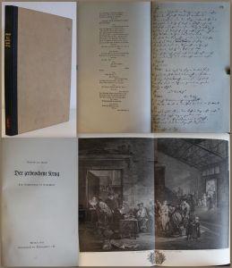 Kleist Der zerbrochene Krug Nachbildung Handschrift 1941 Bibliophile Klassiker