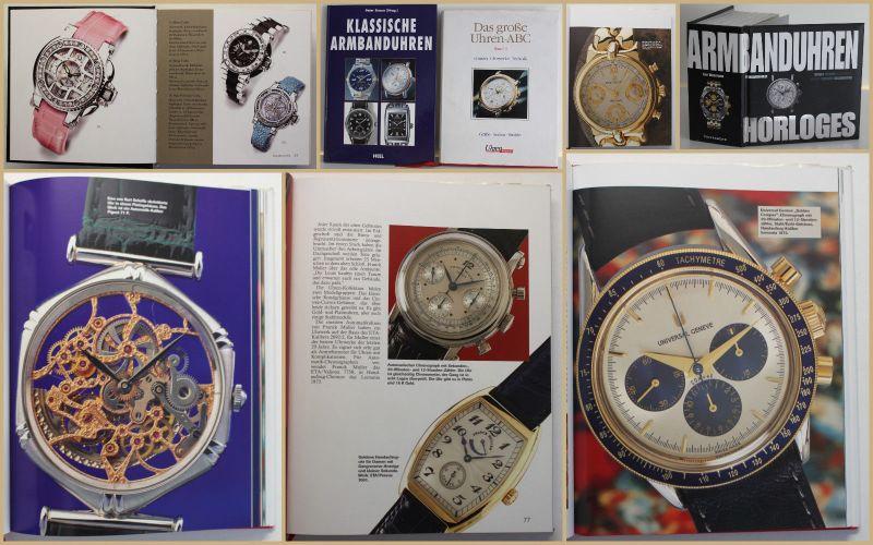 Konvolut Uhrenbücher 3 Bde 1996/2000/2006 Armbanduhren Katalog Handwerk sf
