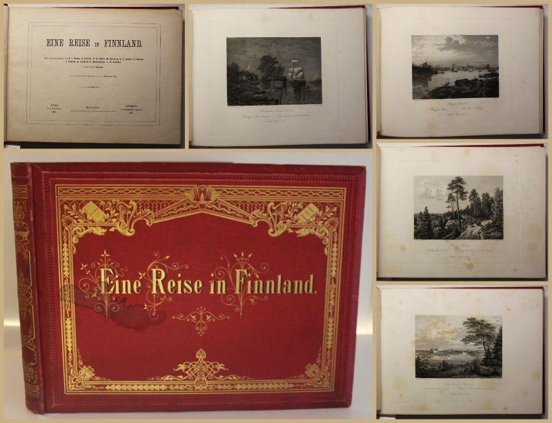 Hermann/ Zacharias Eine Reise in Finnland 1874 Abenteuer Reise Landeskunde sf