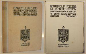 George Baudelaire die Blumen des Bösen 1922 Umdichtingen Klassiker sf