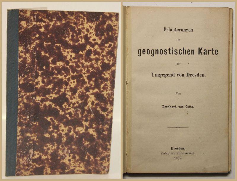 Cotta Erläuterungen zur geognostischen Karte der Umgegend von Dresden 1868 sf