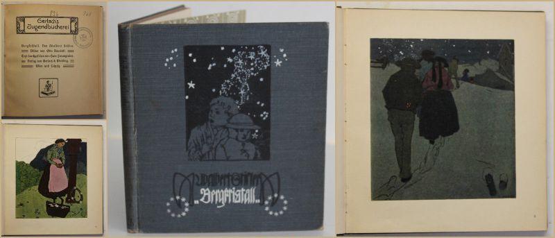 Faungruber Gerlach's Jugendbücherei Bergkristall um 1900 Erzählungen sf