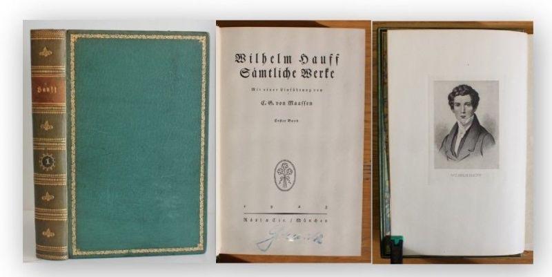 Maaffen Wilhelm Hauff Sämtliche Werke 1923 1 Bd von 5 Belletristik Klassiker xy