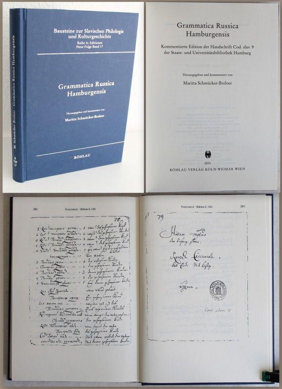 Schmückler-Breloer Grammatica Russica Hamburgensis 2001 Slavistik Grammatik xz