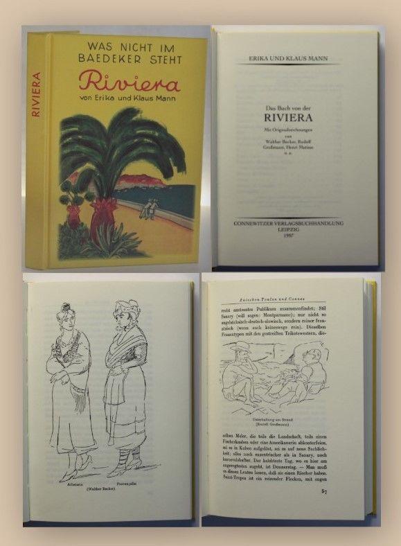Mann Riviera1997 Landeskunde Geografie Ortskunde Reise Reisebericht Kultur xy