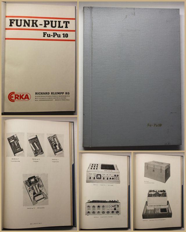 Funk Pult FU-PU10 um 1970 Technik Handwerk Geschichte Elektronik Apparate sf