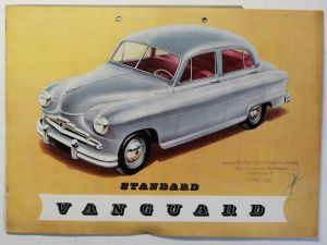 Orig. Werbeprospekt/Broschüre Standard Vanguard um 1953 Oldtimer Automobile sf