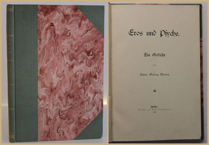 Meyer Eros und Psyche 1899 Gedicht Belletristik Literatur Unterhaltung sf