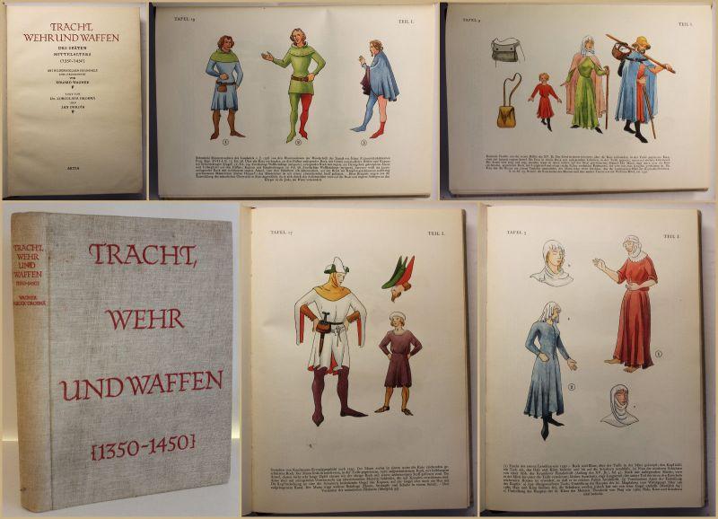 Wagner/Drobna/Durdik Tracht, Wehr und Waffen 1957 Geschichte Militaria sf