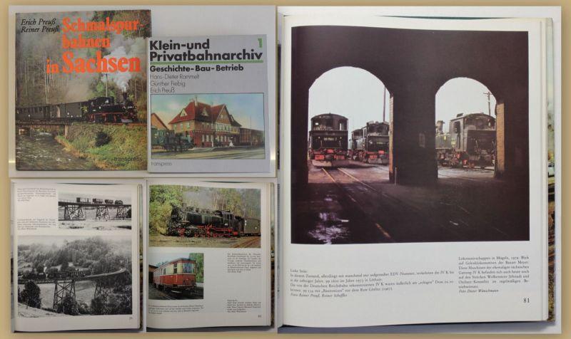 Konvolut Preuß 2 Bde um 1990 Technik Eisenbahn Geschichte Betrieb Bau sf