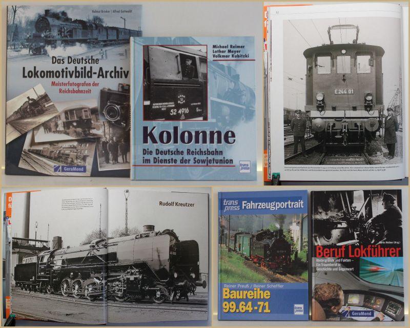 Konvolut 4 Bde Lokomotive 1998/2000/2005/2009 Technik Eisenbahn Geschichte sf
