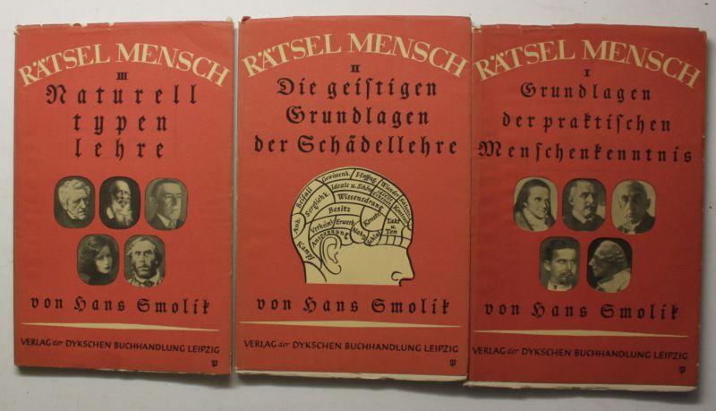 Smolik Rätsel Mensch Grundlagen 3 Hefte 1934 Wissen Geschichte Medizin sf