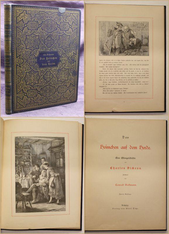Charles Dickens Das Heimchen auf dem Herde Elfengeschichte 1884 Fantasy sf
