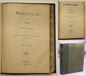 Croker/Duncker 1. Außerhalb der Schranken. Roman 2. Sumpfland 2 Tle in 1 1902 sf