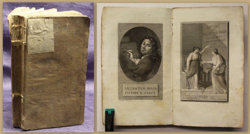 Salvator Satire di Salvator Rosa 1787 lateinisch Belletristik Unterhaltung sf