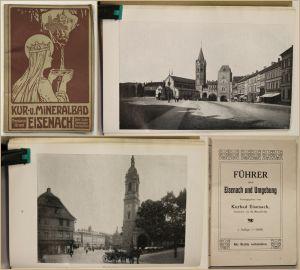 Mansfeld Führer durch Eisenach und Umgebung um 1910 Thüringen Ortskunde sf