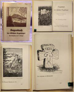 Klengel Sagenbuch des östlichen Erzgebirges 1938 Geschichten Ortskunde sf