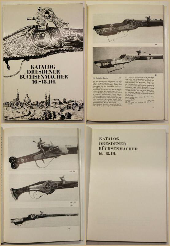 Original Katalog dresdener Büchsenmacher 16.-18. Jh. 1975 Geschichte Handwerk sf