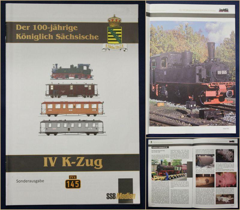 Original Prospekt Der 100 Jährige Königlich Sächsische IV K-Zug 2008 Sachsen sf