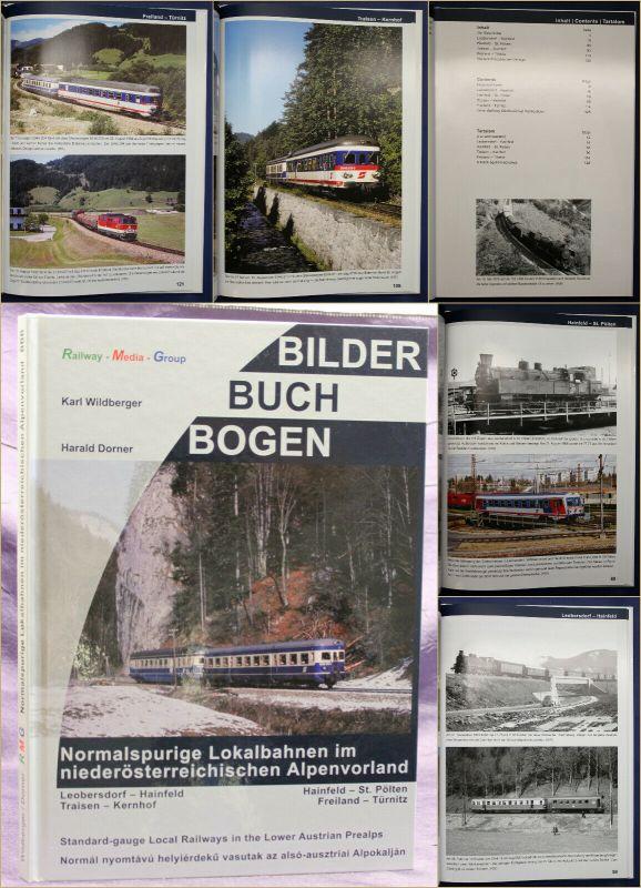 Wildberger/ Dorner Normalsprurige Lokalbahnen niederöster. Alpenvorland 2014 sf